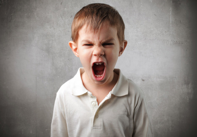 Why is your child acting up by shouting, growling or hitting